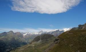 Visti dal Pinter Val d' Ayas e Cervino