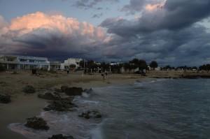 classico tramonto Leccese; bellissimo