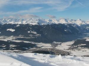 Brunico e la Val Pusteria innevate