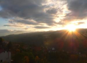 Castelfranci ed il suo tramonto