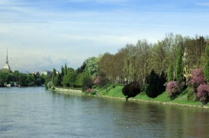 panorama dal ponte isabella