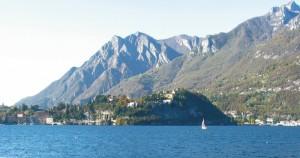 Una giornata di sole sul lago di Lecco . Malgrate