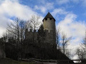 Particolare del Castello di Castelpietra