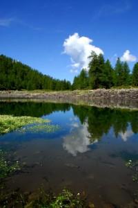 La Magdeleine, Lago Charey