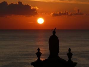 alba sulla cattedrale
