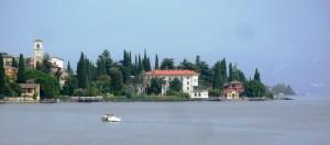 Dal ristorante sul lago…