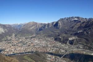 """La """"Valle-città"""" di Lecco"""