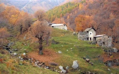 Livo - L'autunno e le baite