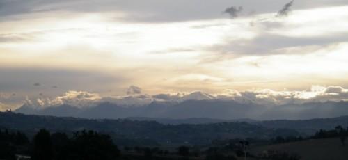 Corridonia - Nuvole e oro