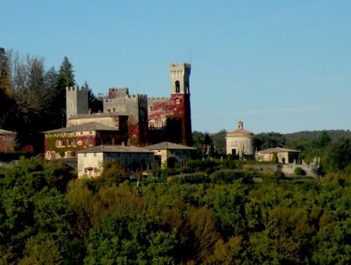 Sovicille - Il castello di Celsa