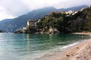…ultimi frequentatori di una spiaggia d'incanto…