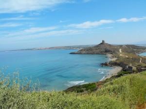 an Giovanni di Sinis: panorama dalla torre di Capo S.Marco