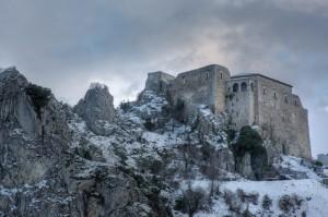 Castello San Felice innevato