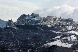Bagnoli del Trigno panorama nord neve