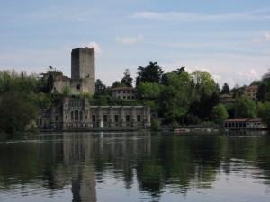 Trezzo sull'Adda, il Castello e la Centrale Taccani