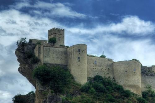 Roccascalegna - Roccascalegna fortezza