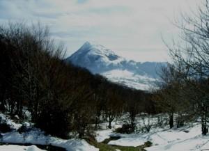 Monte di Viggiano innevato