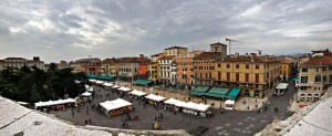 From the top of Arena di Verona