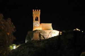 Brisighella - Notturna della Torre dell'Orologio