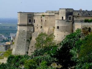 Massafra: il castello sulla gravina