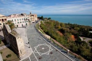 panoramica di via adriatica