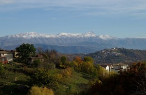 I monti a protezione di Tornimparte