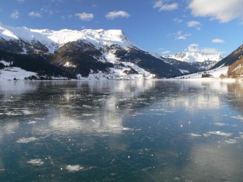 Curon Venosta - Riflesso nel ghiaccio