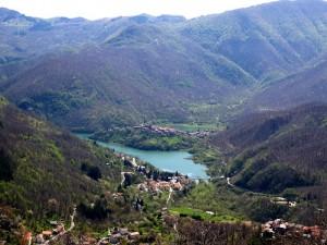 Vagli di Sopra, Vagli di Sotto e Fabbriche di Careggine (sotto il lago!)