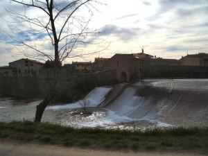 Panoroma sul fiume