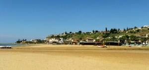 una stupenda spiaggia