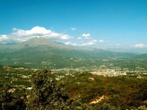 Vista dal Santuario di Belmonte