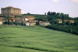 paesaggio con castello