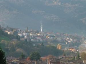 Mattina di Novembre da San Gottardo di Cirano