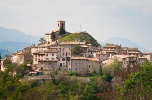 Il piccolo borgo agricolo, Appennino