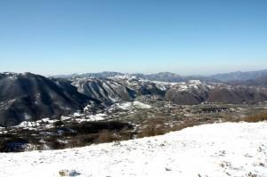 Vista dalla Serra di Vallevona
