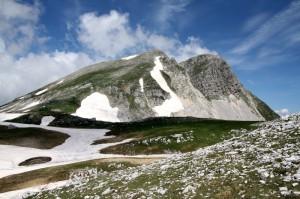 Monte La Meta e il Passo dei Monaci