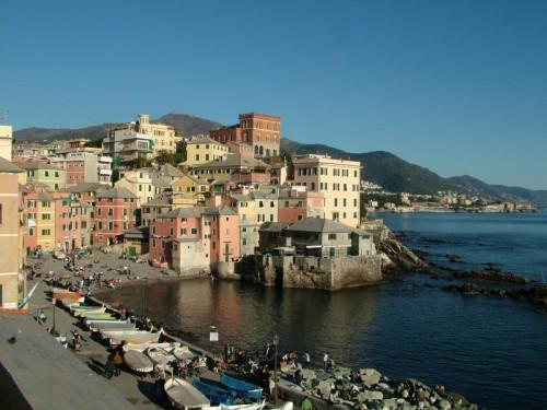Genova - Boccadasse, domenica di novembre