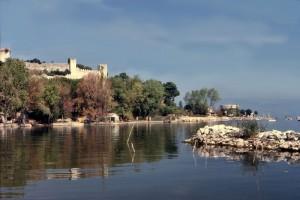 Il lago ed il castello