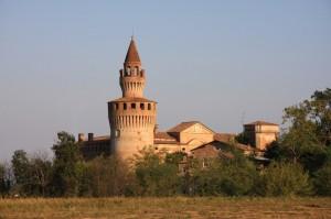 La torre del castello di Rivalta