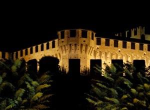 Notturno alla Rocca di Gradara