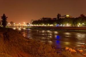 Notturno sul Lungoparma