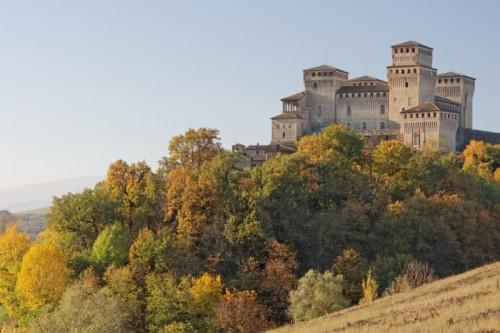Langhirano - Autunno sul Castello di Torrechiara