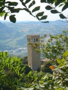 torre civica  XII secolo a San Leo
