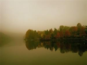 l'adda, il traghetto e la nebbia