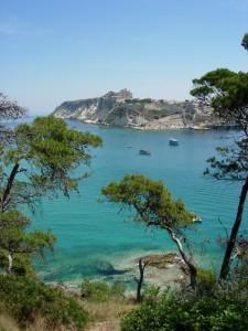 Panorama isola S.Domino