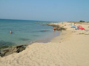 La spiaggia di Capoccia Scorcialupi