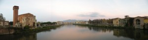 Panorama dal ponte della Cittadella