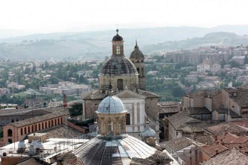 "Macerata - "" MACERATA "" fotografata dalla torre civica"