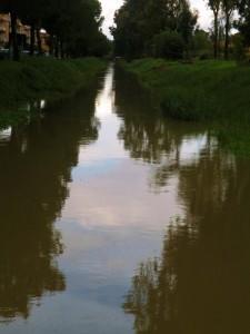 il canale di lungo botte
