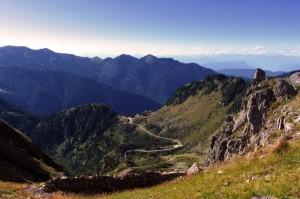 Passo Manghen, il versante nord